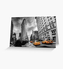 Flatiron Building - NY Greeting Card