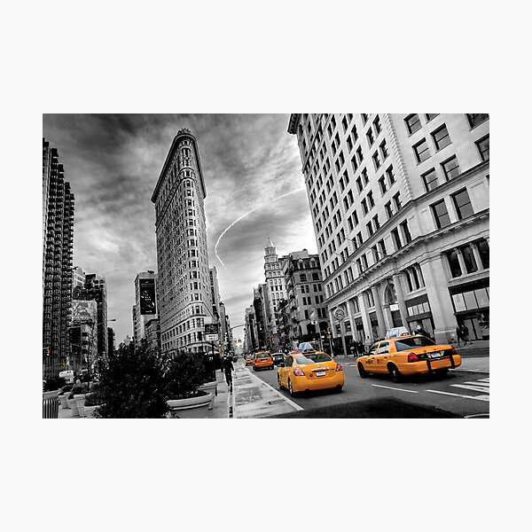 Flatiron Building - NY Photographic Print