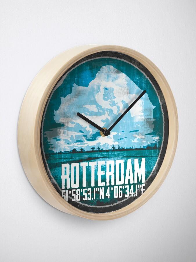Alternative Ansicht von Rotterdam Port Uhr
