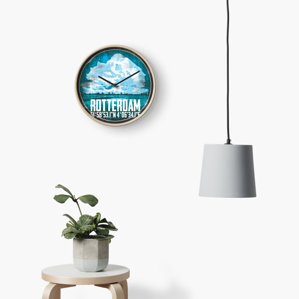 Rotterdam Port Uhr