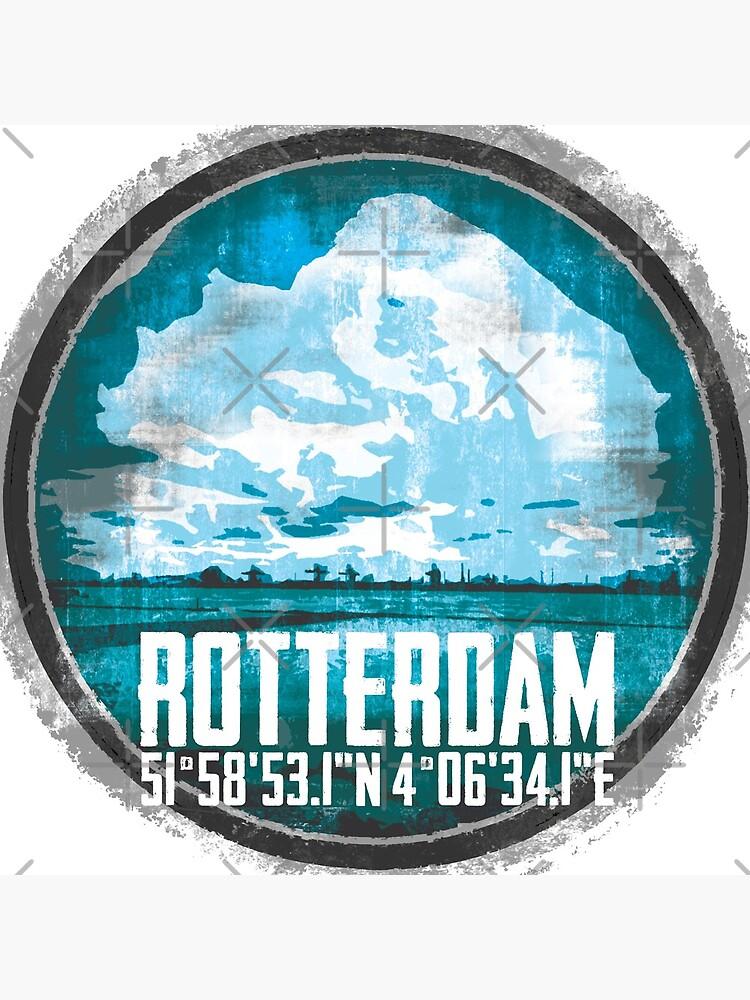 Rotterdam Port von Periartwork