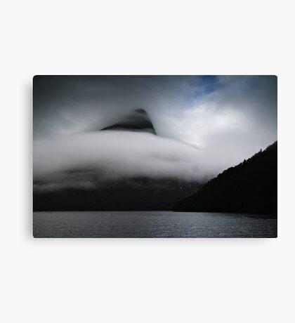 Cloud wave Canvas Print