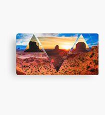 Oljato Monument Valley Polyscape Canvas Print