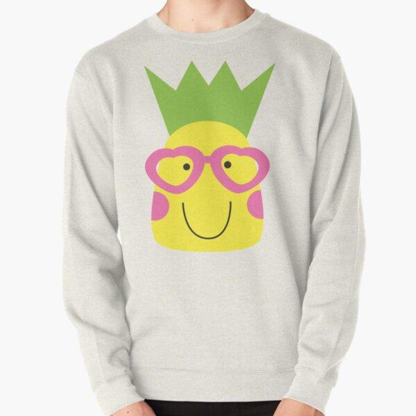 Happy Pineapple Pullover Sweatshirt
