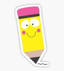 Happy Pencil Sticker