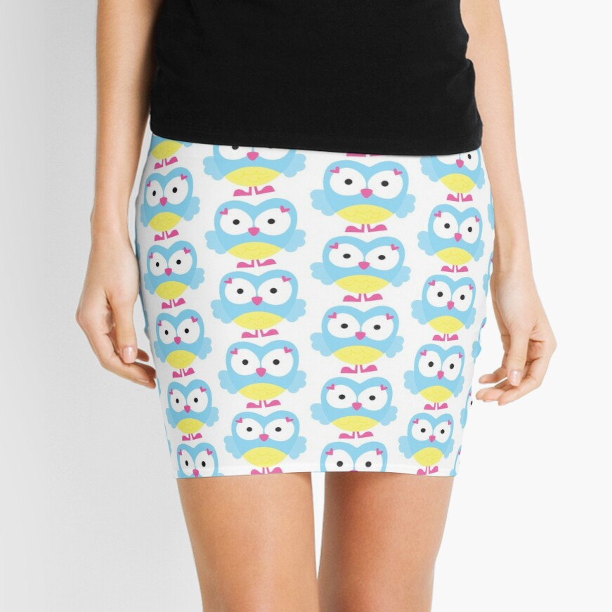 Sweet Owl Mini Skirt