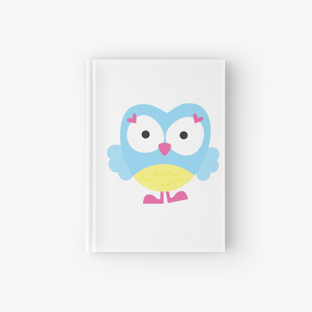 Sweet Owl Hardcover Journal
