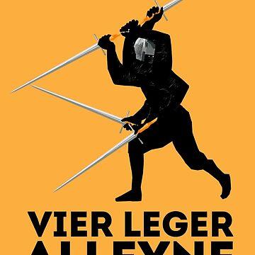 Vier Leger Alleyne by ArteDoCombate