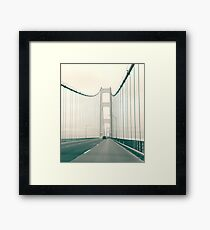 Mackinaw Bridge Framed Print