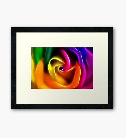 Any colour u like Framed Print