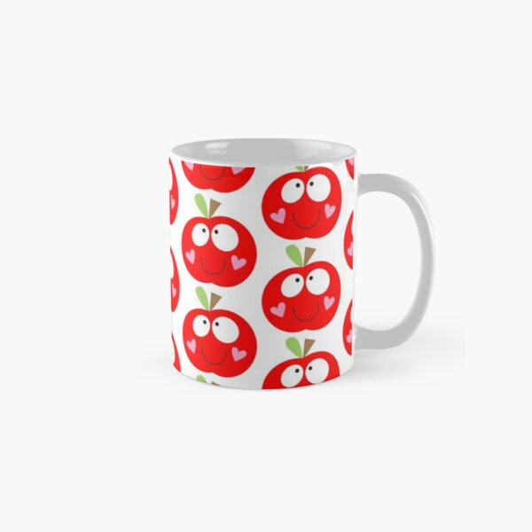 Happy Apple Red Classic Mug