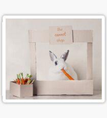 The Carrot Shop Sticker