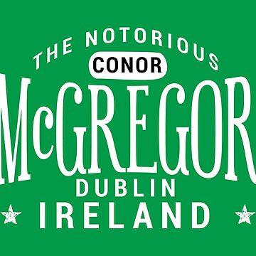 Conor Mcgregor Dublin Ireland by bibinik