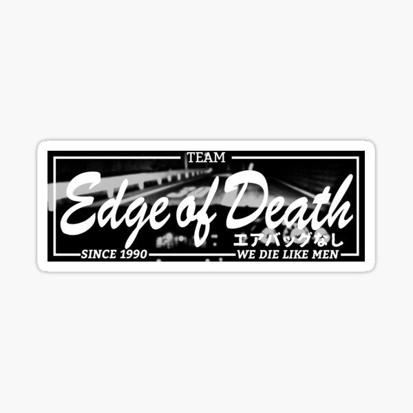 Edge of Death Team Sticker