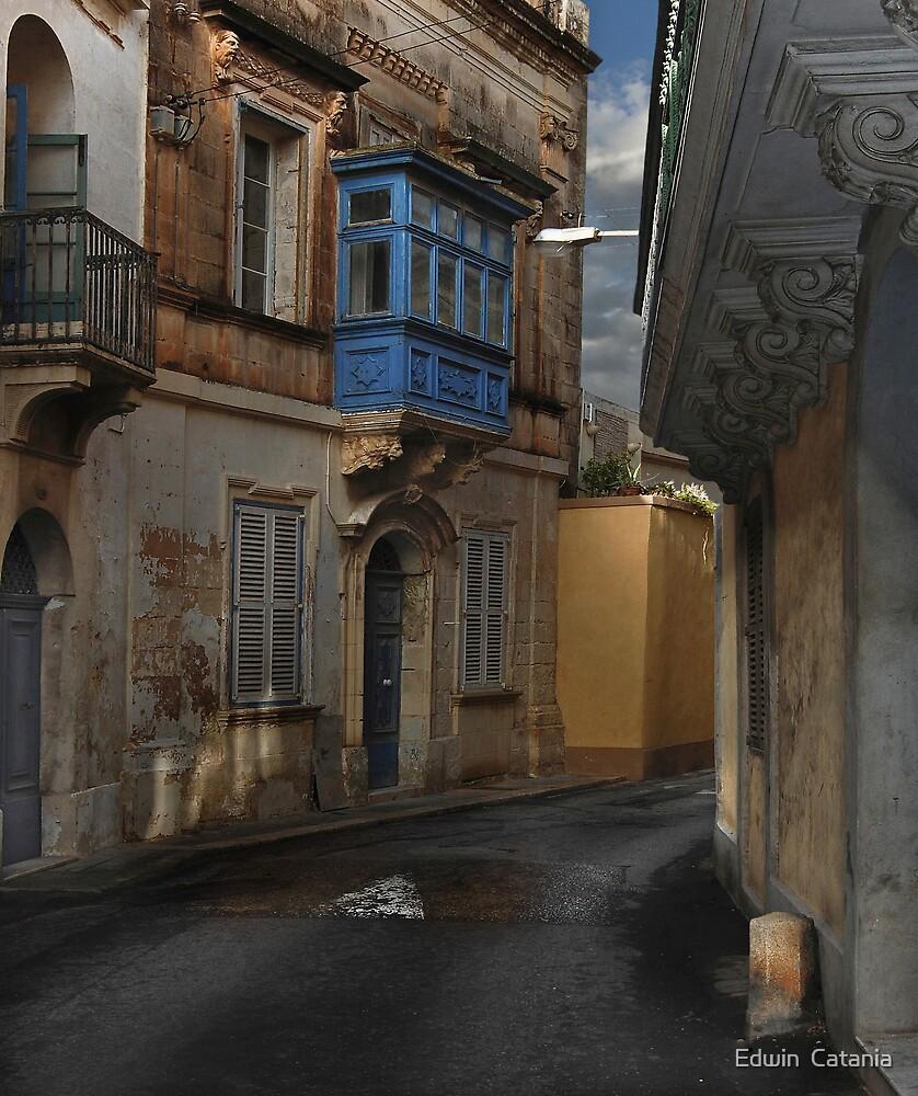 Naxxar Malta Street-Study by Edwin  Catania