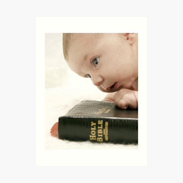 Bible Thumper Art Print