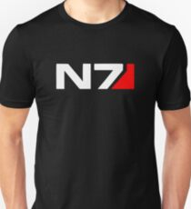 Camiseta ajustada Mass Effect N7