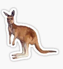 Känguru Sticker