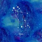Constellation Gemini by ShaMiLaB
