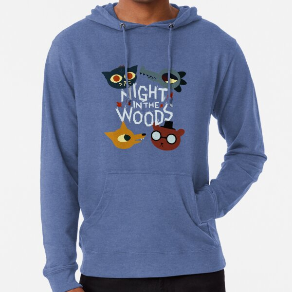 Night in the Woods - all characters Lightweight Hoodie