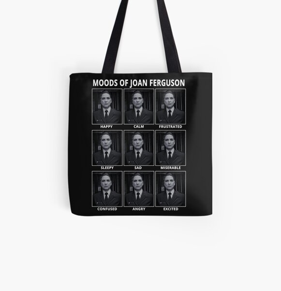Moods of Joan Ferguson All Over Print Tote Bag