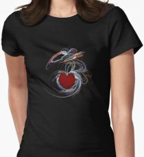 """""""A Passionate Heart"""" Womens Fitted T-Shirt"""