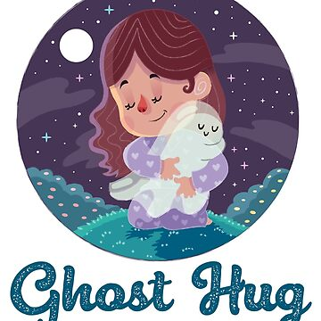 Adorable Ghost Hugs - Girl by StedeBonnet