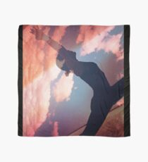 Yoga pilates analog film 35mm double exposure nature clouds photo Scarf