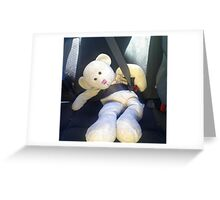 Buckle up for Safety Greeting Card
