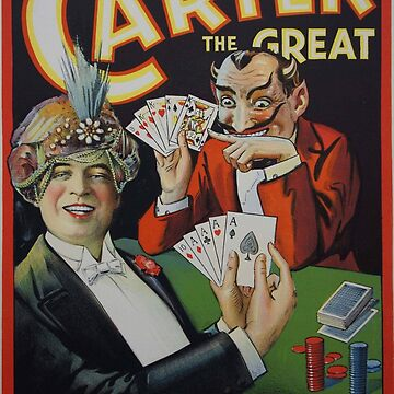 Carter Beats the Devil - Vintage Poster by themasters