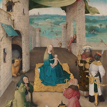 Adoration of the Magi - Hieronymus Bosch by themasters