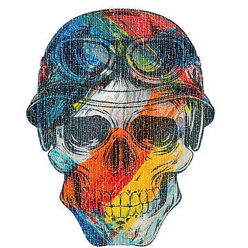 Biker Skull by madtoyman