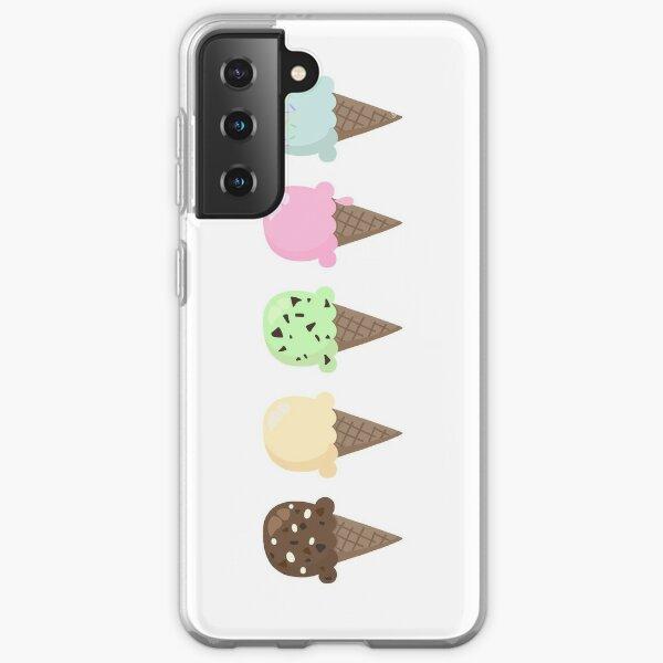 Ice cream flavors Samsung Galaxy Soft Case
