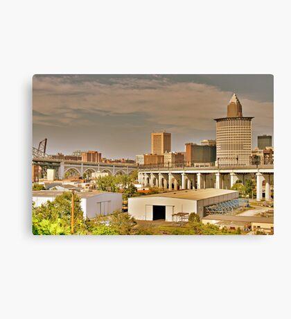 Cleveland Rocks Canvas Print