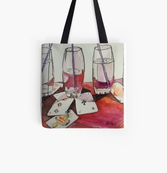 Game Time All Over Print Tote Bag