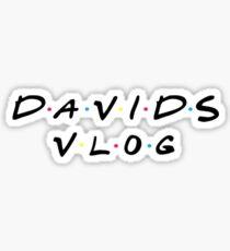 David Dobrik - Davids Vlog Sticker