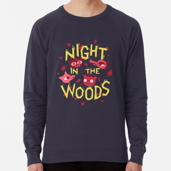 Night in the Woods - all characters night version Lightweight Sweatshirt