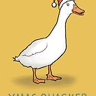 Christmas Quacker by carlbatterbee
