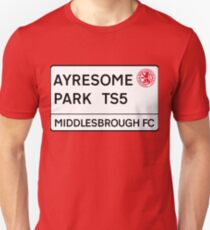 Middlesbrough FC Ayresome Park Unisex T-Shirt