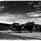 "Lancaster Bomber ""Just Jane"" by Chris Tait"