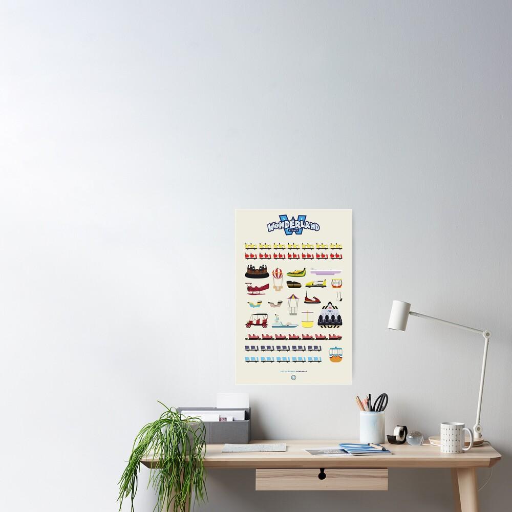 Wonderland Sydney - Ride Poster Poster