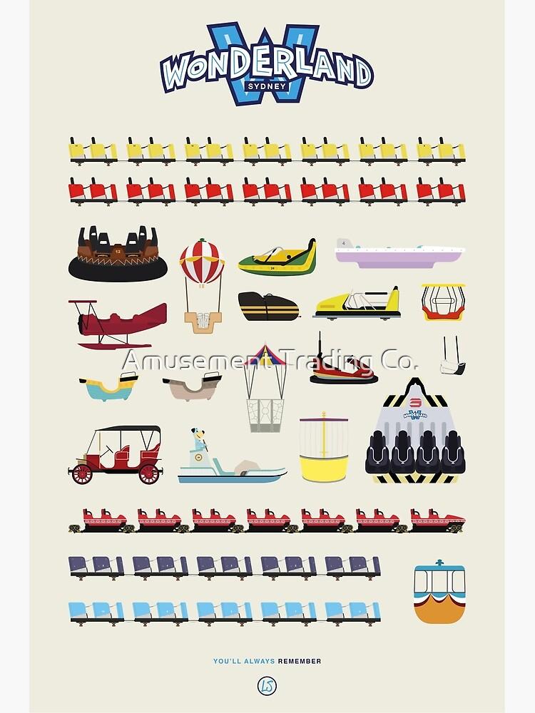 Wonderland Sydney - Ride Poster by force-wear-au