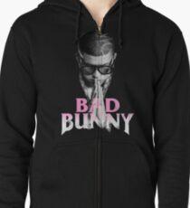 Bunny Pray Zipped Hoodie