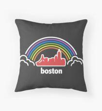 City Pride (Boston, MA) Throw Pillow