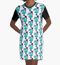 Galo de Sardinha Graphic T-Shirt Dress