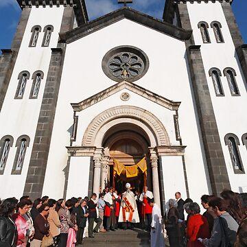 Church in Furnas by gavila