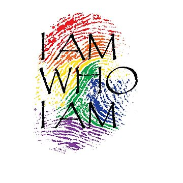 I Am Who I Am Fingerprint Pride Shirt by Grabitees