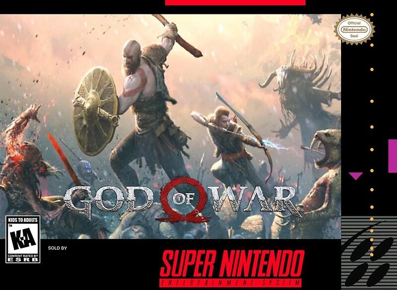 God of War SNES