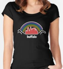 City Pride (Buffalo, NY) Women's Fitted Scoop T-Shirt