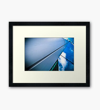 To Reach The Blue, Ya Gotta Have The Green! Framed Print